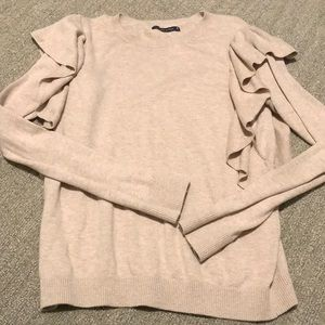 50% OFF BUNDLES Abercrombie &Fitch Ruffle Sweater
